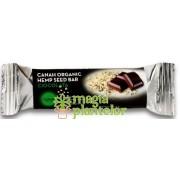 Baton seminte canepa si cacao bio 42 G - Canah