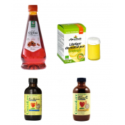 "Pachet ""Creste imunitatea copii"" First Defense 118.50 ML ChildLife Secom, Vitamin C sirop 118.5 ML ChildLife Secom, Sirop catina 520 ML Steaua Divina, Laptisor de matca pur 25 G Api Vitalis"