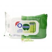 Servetele umede antibacteriene Detox 120 BUC - Best Buy