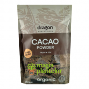 Cacao pudra raw eco 200 G - Dragon Superfoods