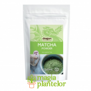Matcha Pulbere Clasa A Raw eco 100 G - Dragon Superfoods