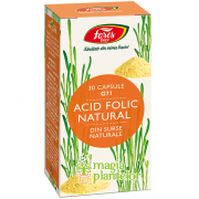 Acid Folic Natural G71, 30 CPS - Fares