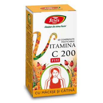 Vitamina C 200MG 60CPR F152 - Fares