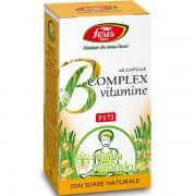 B complex vitamine naturale 60 CPS - Fares