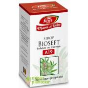 Biosept A19 - Mami si bebe sirop cu fructoza 100 ML – Fares