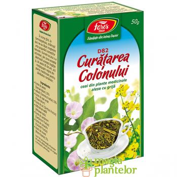 Ceai curatare colon 50 G - Fares