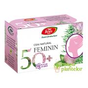 Feminin 50+ ceai la plic 20 DZ - Fares
