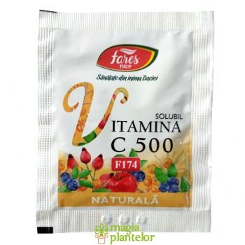 Vitamina C 500 naturala  5 G – Fares