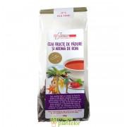 Ceai fructe de padure si aroma de rom 50 G - FarmaClass