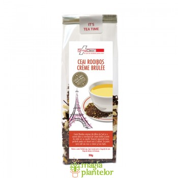Ceai rooibos Creme Brulee 50 G - FarmaClass