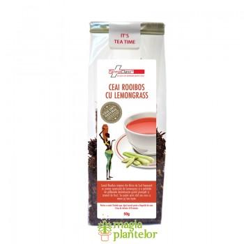 Ceai rooibos cu lemongrass 50 G - FarmaClass