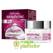 Gerovital H3 Crema Antirid + Acid Hialuronic 50 ML - Farmec