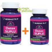 Detox suplu 60+10 CPS - Herbagetica