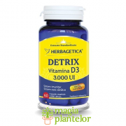 Detrix vitamina D3 3000 UI 60 CPS – Herbagetica