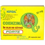 Coenzima Q10 in ulei catina 40 x 30 MG - Hofigal