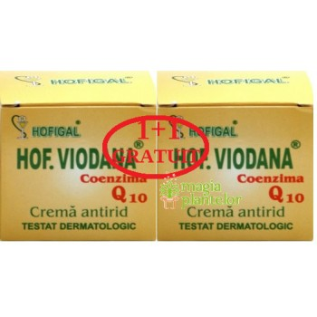 Crema antirid Q10 Viodana 50+50 ML - Hofigal