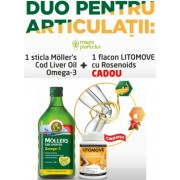 Cod liver oil lamaie 250 ML+ Litomove 30 CPS - Orkla Health - Mollers