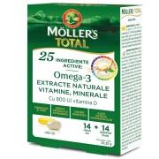 Mollers total multivitamine si minerale 14CPS+14TB - Orkla Healt