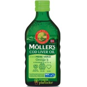 Cod liver oil mere verzi 250 ML - Mollers