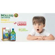 Cod liver oil tutti frutti 250 ML+cutie pranz - Möller's