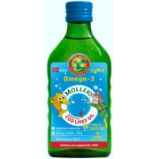 Cod liver oil tutti frutti 250 ML+Smart cub - Möller's