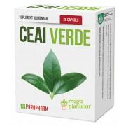 Ceai verde 30 CPS - Parapharm