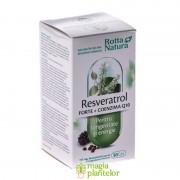 Resveratrol Forte + Co Q10, 30 CPS - Rotta Natura