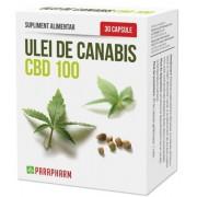 Ulei canabis CBD 100 - 30CPS - Quantum Pharm