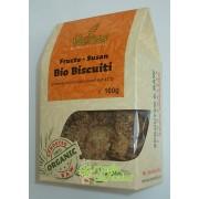 Biscuiti bio fara gluten din fructe si susan 100 G – Petras