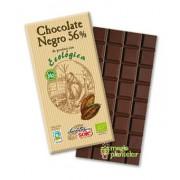 Ciocolată neagră bio 56% 100 G - Pronat