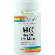 AHCC® Plus Nac & Beta Glucan 30 CPS - Secom