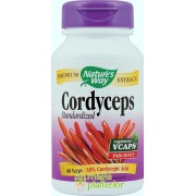 Cordyceps 60 CPS - NATURE'S WAY - Secom