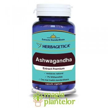 ASHWAGANDHA 60 CPS - Herbagetica