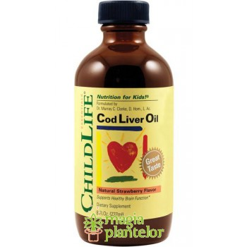 Cod Liver Oil 237 ML - ChildLife- Secom