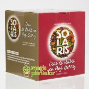 Ceai de slabit goji berry 20 DZ – Solaris