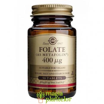 Folate 400 mcg 50 TB - Solgar