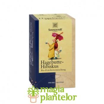 Ceai fructe macese hibiscus bio 18DZ - Sonnentor