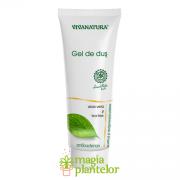 Gel de dus cu Aloe Vera si Tea-Tree 250 ML– Vivanatura