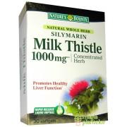 Silymarin Milk Thistle 1000 MG 30 CPS - Walmark