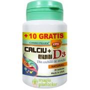 Calciu + D3 30+10 TB – Cosmo Pharm