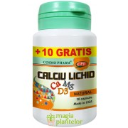 Calciu lichid+Mg+D3 30+10 CPS – Cosmo Pharm