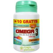 Omega 3 ulei de cod 30+10 CPS – Cosmo Pharm