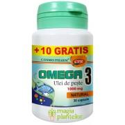 Omega 3 ulei de peste 30+10 CPS – Cosmo Pharm