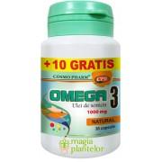 Omega 3 ulei de somon 30+10 CPS – Cosmo Pharm