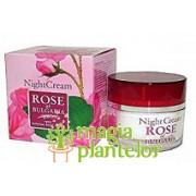 Crema noapte cu apa de trandafir 50 ML - Creativ Aimee