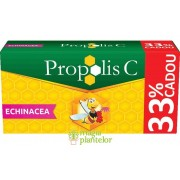 Propolis C si echinacea 30 + 10 CPR - Fiterman