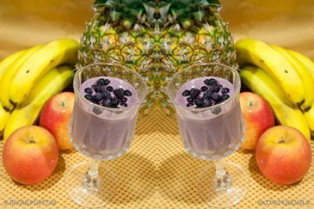 Smoothie cu fructe
